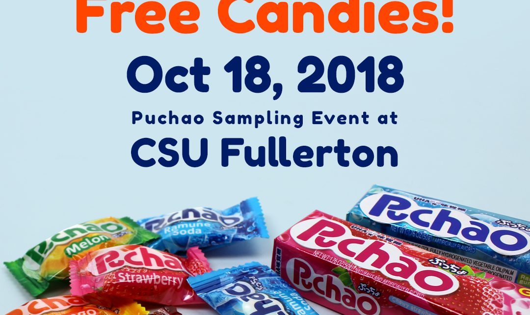 Puchao sampling event at CSU Fullerton