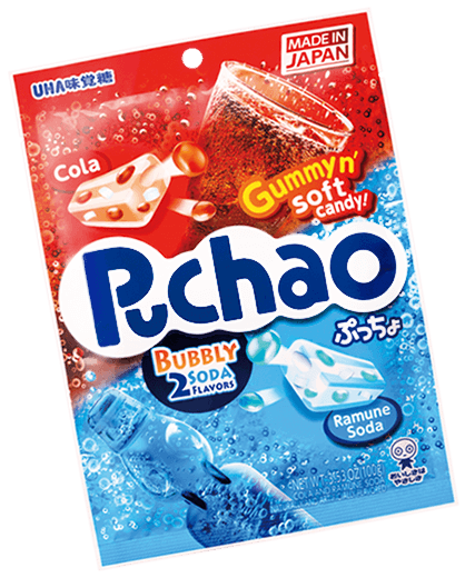 Puchao Bubbly Soda (Cola and Ramune)