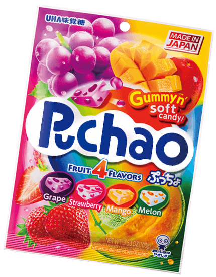 Puchao Fruit 4 flavors
